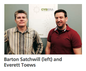 Barton Satchwill and Everett Toews